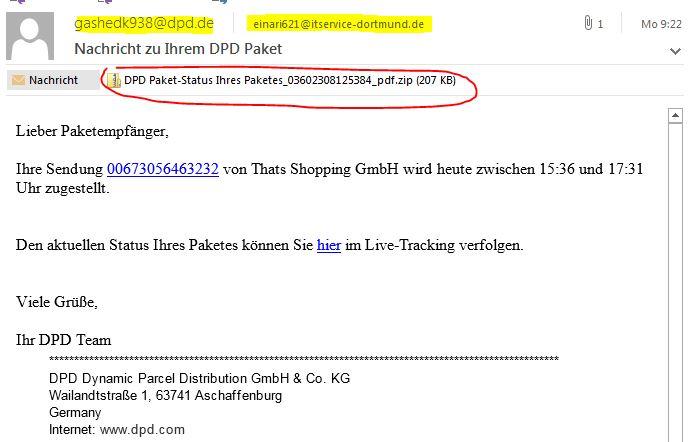 Dpd paket tracking