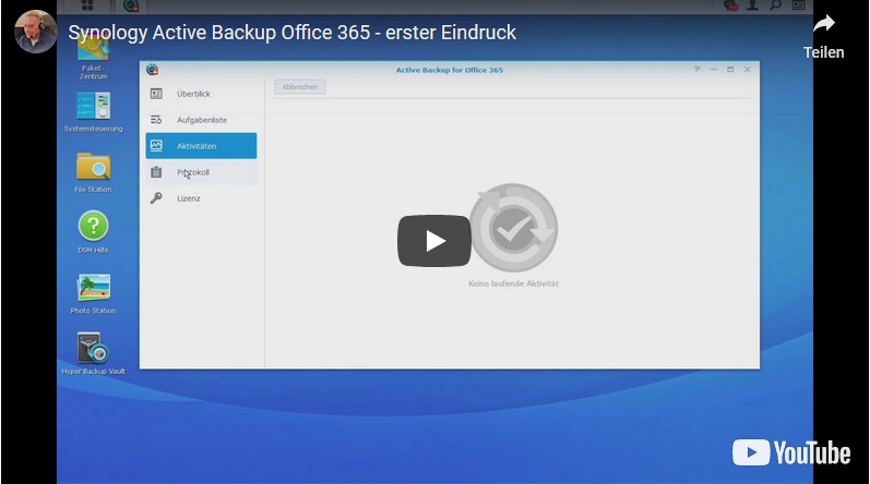 Synology Active Backup 4 Office 365